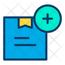 Add Parcel Add Package Add Delivery Pack Icon