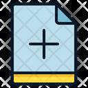 File Add Plus Icon
