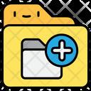 Add File And Folder Folder Icon