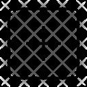 Square Add Create Icon