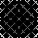Plus Cross Web Icon