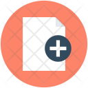 Add File Sheet Icon