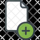 Add Paper File Icon