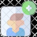 Add Friend User Profile Icon