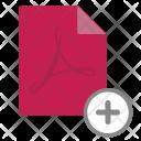 Add adobe file Icon