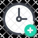 Add Time Alarm Icon
