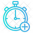 Add Time Time Clock Icon