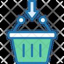 Shopping Basket Add Basket Add Bag Icon