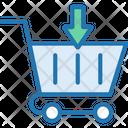 Shopping Basket Add Product Add Cart Icon
