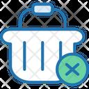 Shopping Basket Remove Basket Remove Cart Icon