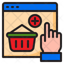 Busket Ecommerce Online Icon