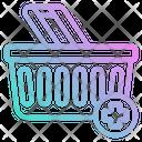 Basket Adding Store Icon