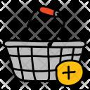 Add Bucket Shopping Icon