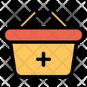 Add Basket Shopping Icon