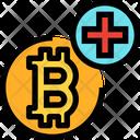 Add Bitcoin Add Bitcoin Icon
