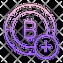 Add Add Bitcoin Bitcoin Icon