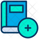 Add Book Library Icon