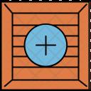 Add Crate Box Icon
