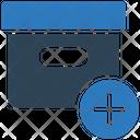 Add Box New Box Parcel Icon