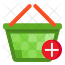 Busket Add Shopping Icon