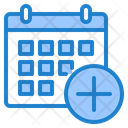 Add Calendar Add Event Add Appointment Icon
