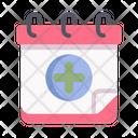 Calendar Date Planner Icon