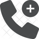 Call Phone Add Contact Icon