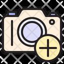 Add Camera New Camera Photo Icon