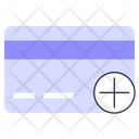 Add Cart Credit Card Shopping Icon