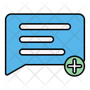 Message Chat Add Icon