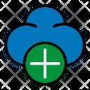 Add Plus Cloud Icon