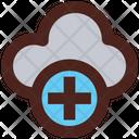 Add Cloud Storage New Cloud Storage Add Cloud Icon