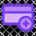 Add Credit Card Icon