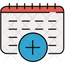 Add Schedule Day Icon
