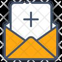 Add Email Invitation Icon