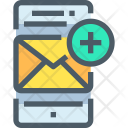Email Mobile Add Icon