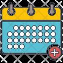 Add Event Schedule Calendar Icon