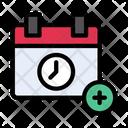 Calendar Date Add Icon