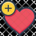 E Commerce Add Heart Icon