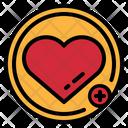 Heart Favourite Love Icon