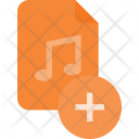 Add Audio File Icon