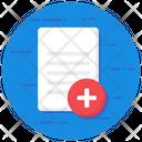 Add New Create New Add File Icon