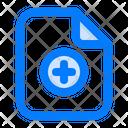 Add Plus File Icon