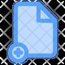 Add File New Folder New Document Icon
