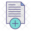 Document Add Paper Icon