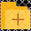 Add Folder Data Icon