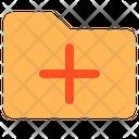 Add Folder New Folder Data Collection Icon