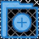 Plus Add Folder Icon