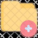 Add Add Folder Files And Folders Icon