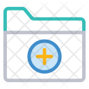 Folder Add Archive Icon